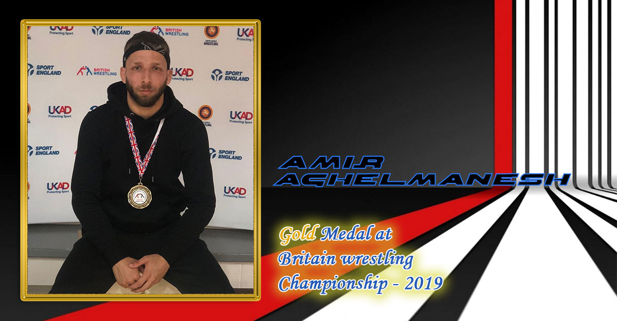 Gold medal in the British Wrestling Championships 2019